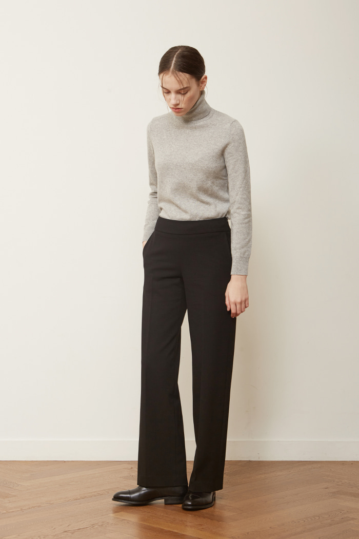 FW ' WIDE TROUSERS - BLACK