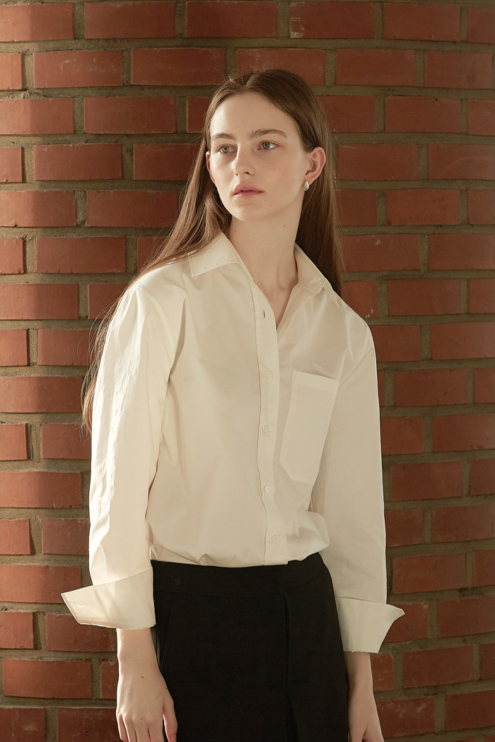 SOFT COTTON SUMMER SHIRT - IVORY
