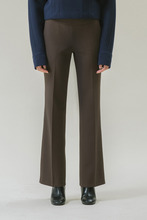 BOOTS CUT TROUSERS - BROWN